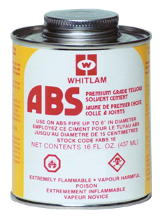 WHITLAM ABS Yellow Low VOC Cement