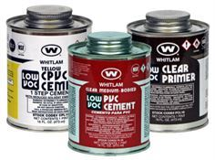 Solvents Weld Cements, Primers and Cleaner