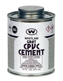 WHITLAM CPVC Gray Heavy Bodied Low VOC Cement