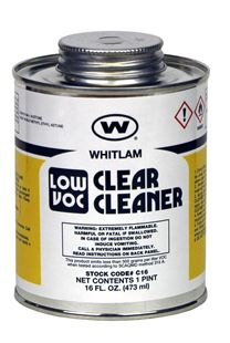 WHITLAM Low VOC Clear Cleaner