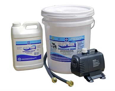 FLOW-AIDE COMMERCIAL SYSTEM DESCALER KIT