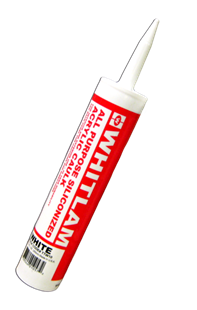 WHITLAM All Purpose Siliconized Acrylic Caulk