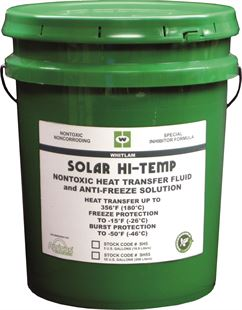 SOLAR HI-TEMP Heat Transfer Fluid and Anti-Freeze Solution