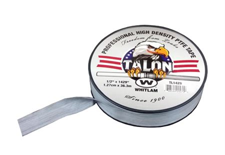TALON Professional High Density Gray PTFE (Polytetrafluoroethylene) Tape