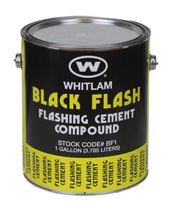 BLACK FLASH Flashing Cement Compound