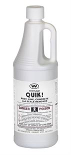 QUIK! HCL - Rust, Lime, Concrete and Scale Remover