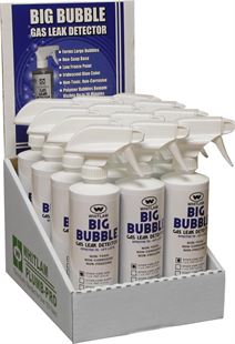 BIG BUBBLE Liquid Gas Leak Detector Spray Formula