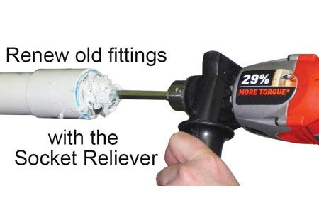 PLUMB-PRO® Socket Reliever Fitting Reamers