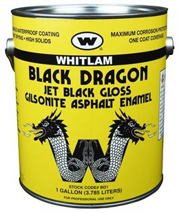 BLACK DRAGON Black Gilsonite® Asphalt Paint