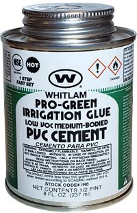 PRO-GREEN Irrigation Medium Bodied Low VOC PVC Cement