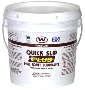 QUICK SLIP PLUS Vegetable Oil-Based Pipe Joint Lubricant