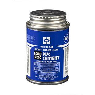 Whitlam Clear Heavy Bodied Low Voc Pvc Cement
