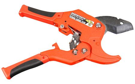 PLUMB-PRO® SABERTOOTH™ Plastic Pipe Ratchet Cutter - 1-5/8 Inch