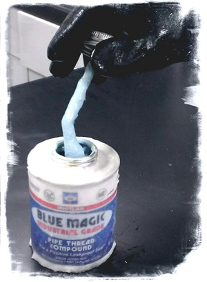Blue Magic Frozen