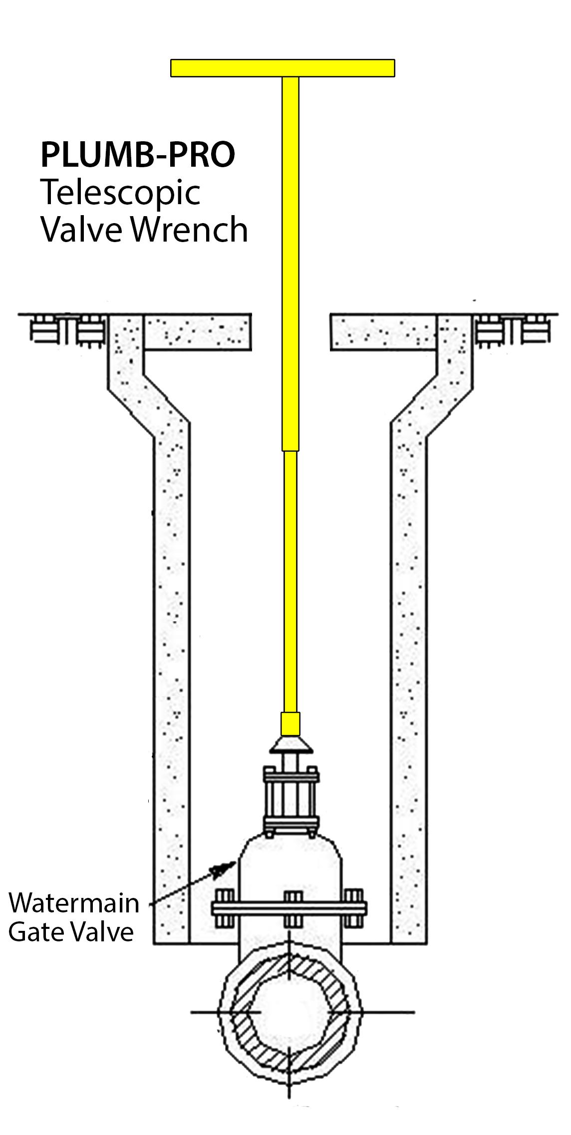 PLUMB-PRO® Telescopic Valve Wrench