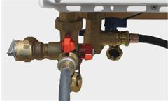 Tankless Water Heater Service Valves